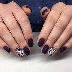 Однотонные матовые ногти – Матовый маникюр — как сделать в домашних условиях, модный дизайн и цветовая гамма с видео