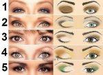 Макияж для близко посаженных маленьких глаз – пошаговая инструкция по созданию макияжа со стрелками, как определить тип и красить глаза