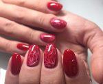 Ногти дизайн темно красные – Дизайн ногтей в красном цвете гель лаком. Фото, идеи маникюра, рисунки