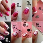 Пошаговое рисунки на ногтях – Пошагово рисунок на ногтях. Как создаются рисунки на ногтях: пошаговая инструкция