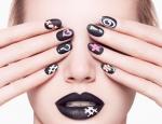 Идеи черного матового маникюра – Тенденции матового маникюра 2018 на короткие ногти с самыми модными матовыми оттенками и декором: фото-идеи и видео мастер-классы
