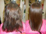 На сколько хватает кератинового выпрямления волос – сколько держится, хватает ли состава на несколько раз, долго ли длится процедура и через какое время можно делать повторное нанесение?