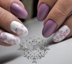 Наращивание ногтей миндальная форма – какой дизайн лучше выбрать? (80 фото)