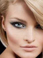 Окрашивание бровей блондинкам – как подобрать красивый цвет бровей (фото)