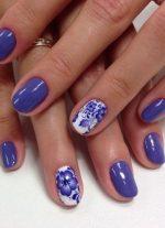Фото ногти с цветами – Рисунки цветов на ногтях — 90 фото идей красивого оформления ногтей с рисунком