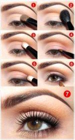 Фото уроки макияжа для карих глаз пошагово – Макияж для карих глаз, пошаговый фото урок нанесения макияжа для карих глаз