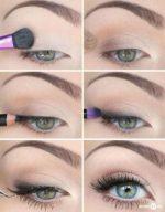 Легкий повседневный макияж для зеленых глаз – Повседневный макияж для зеленых глаз пошагово на каждый день. Фото