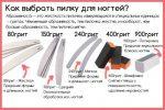 Шлифовальная пилочка для ногтей – Абразивность пилки для натуральных ногтей