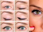 Рисуем стрелки карандашом на глазах – как нарисовать пошагово. Как правильно нарисовать стрелки на глазах — карандашом, подводкой? Как правильно рисовать стрелки на больших глазах?