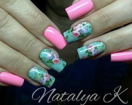 Красивый Маникюр Розового Цвета Фото