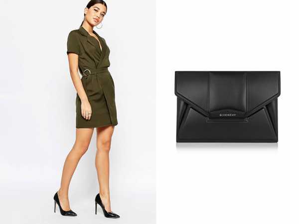 b71c9e1c8de При создании делового образа необходимо подобрать аксессуары к  темно-зеленому платью