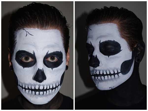 Как разрисовать лицо на хэллоуин – Как себя раскрасить ...
