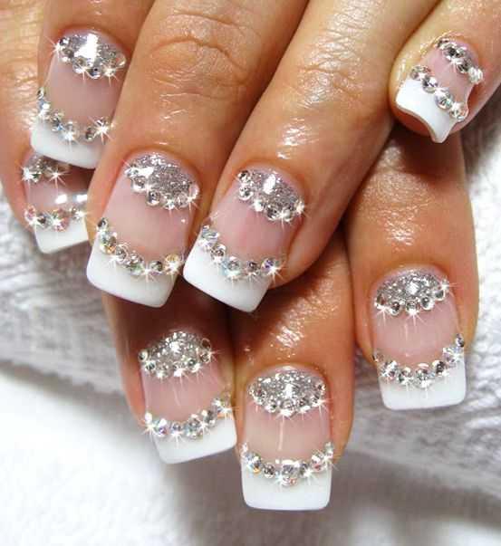 Свадебный ногти френч – Свадебный маникюр френч для ногтей разной .Идеи свадебного дизайна ногтей